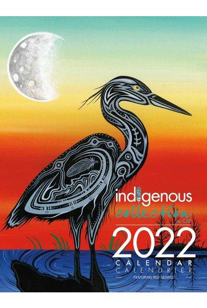 2022 Calendar - Art by Jeffrey Red George
