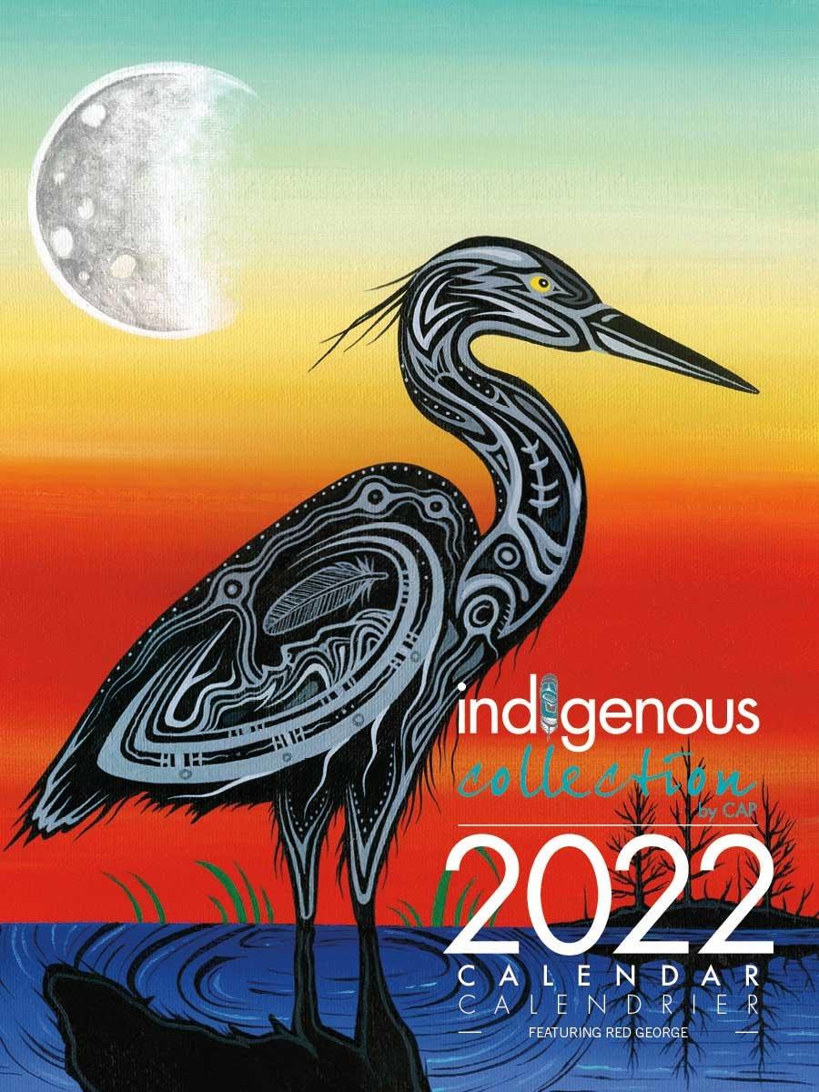2022 Calendar - Art by Jeffrey Red George-1