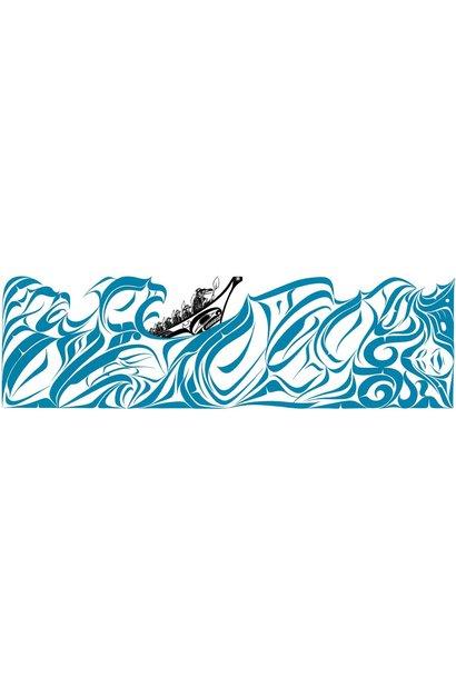 "9 x 6 Art Card ""Water"" By Richard Shorty"
