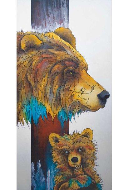 "9x6 Art Cards - ""The Matriarch"" by Micqaela Jones"