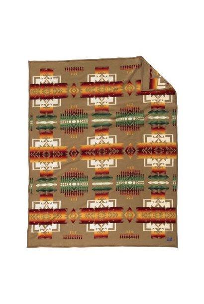 Pendleton Wool Blanket - Chief Joseph / Khaki
