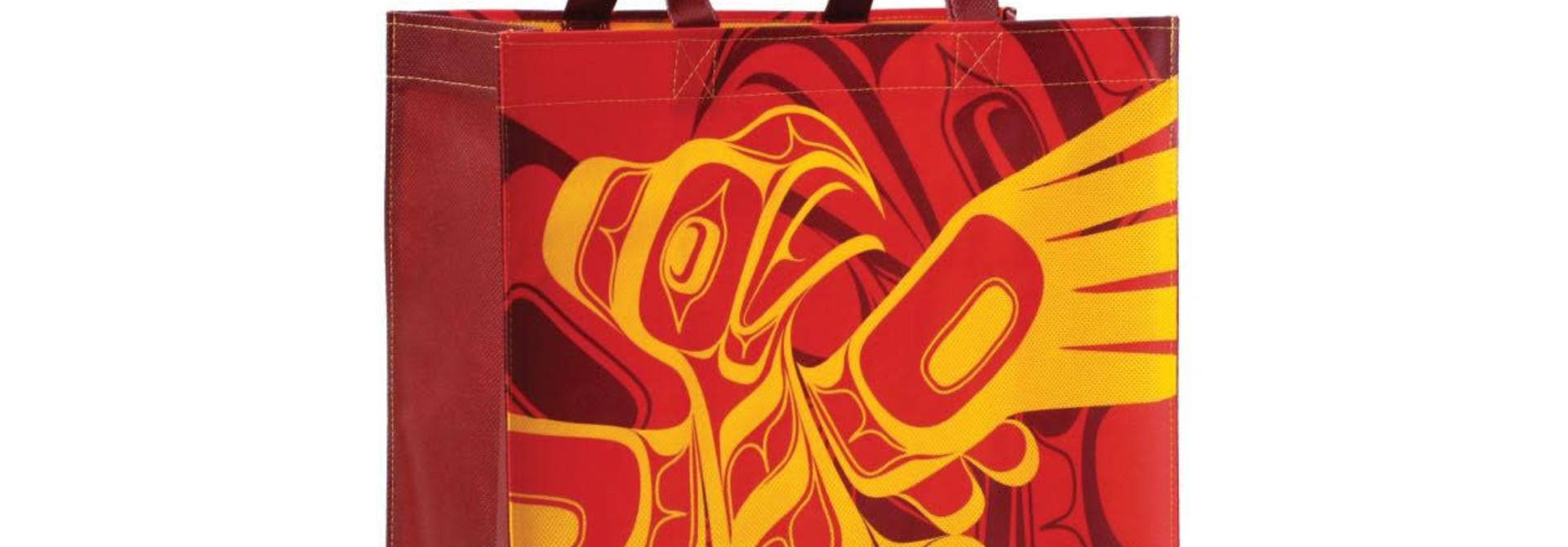 Eco Bag- Eagle by Allan Weir