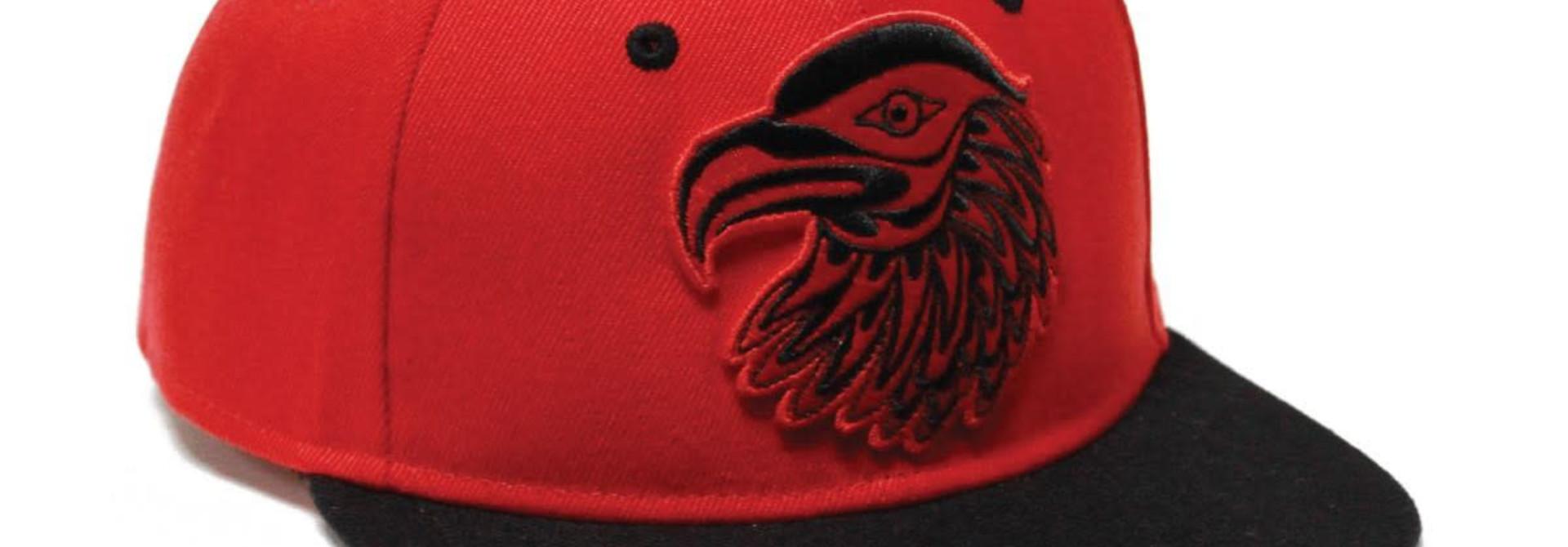 Snap Back Hat-Eagle by Simone Diamond