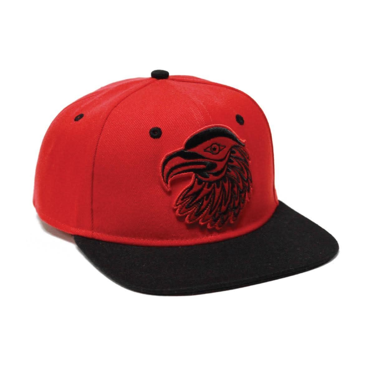 Snap Back Hat-Eagle by Simone Diamond-2