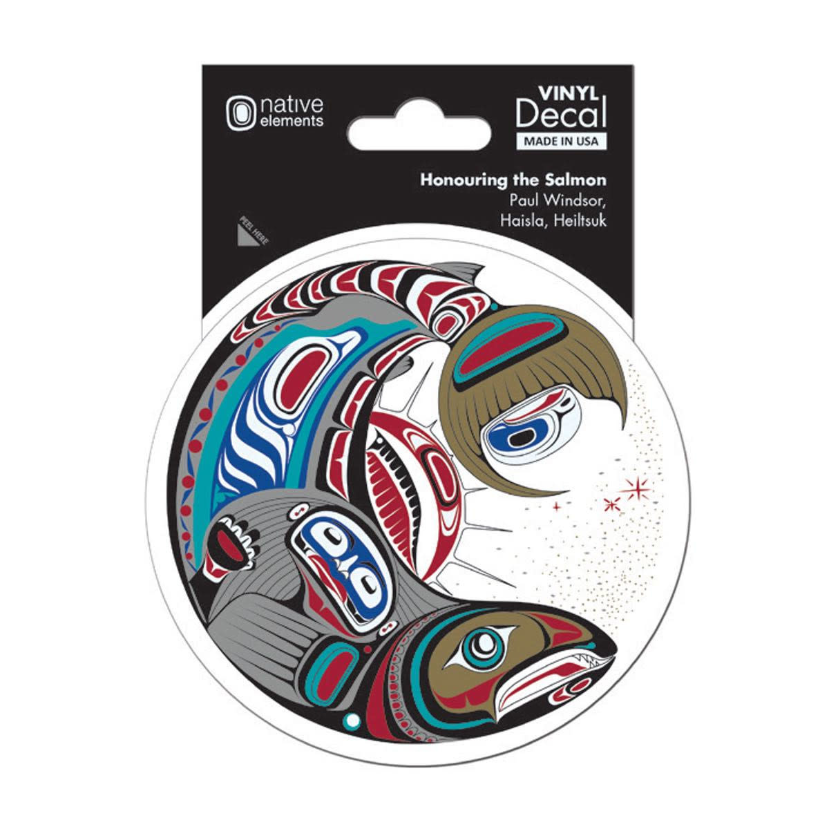 Premium Decal-Honouring the Salmon by Paul Windsor-1