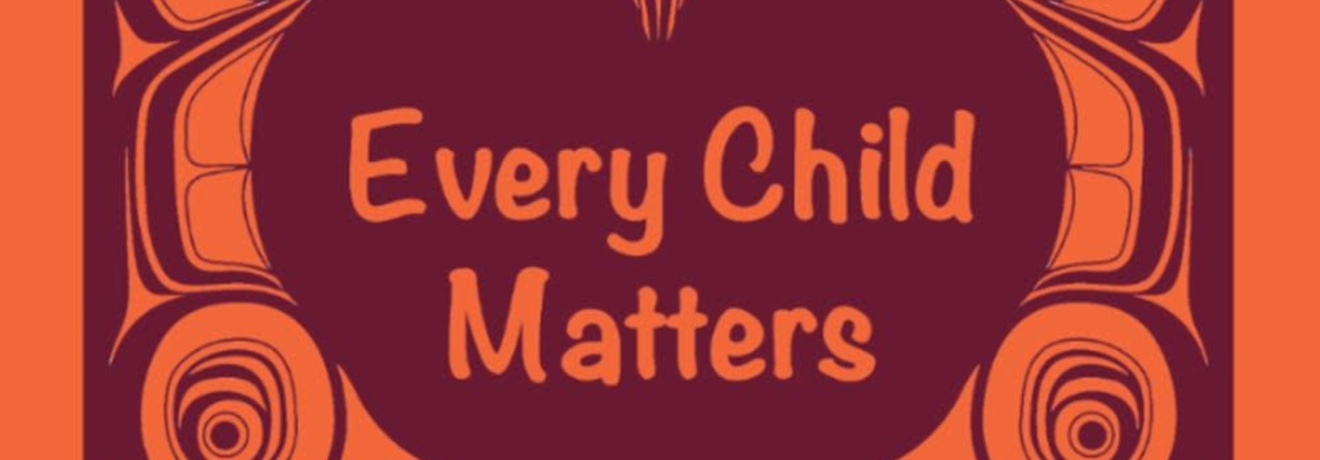 "Every Child Matters 2.5"" Sticker - strip of 5"