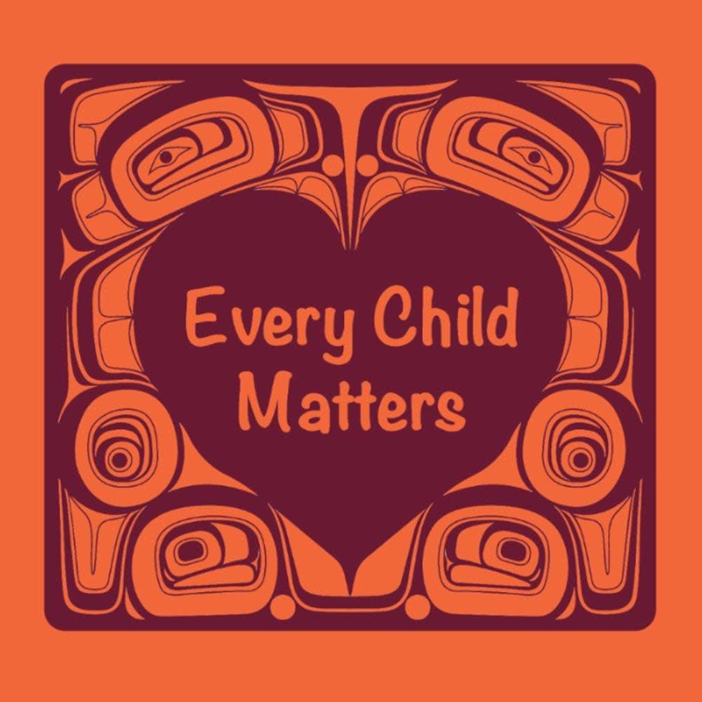 "Every Child Matters 2.5"" Sticker - strip of 5-1"
