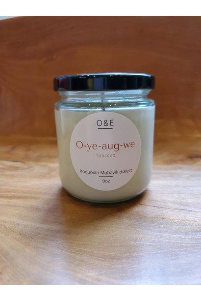 9oz Jar Soy Candle by Oak & Earth