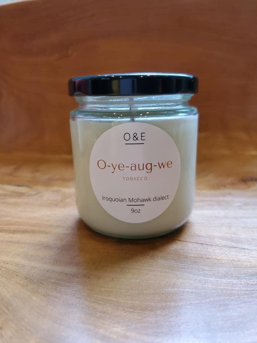9oz Jar Soy Candle by Oak & Earth-1