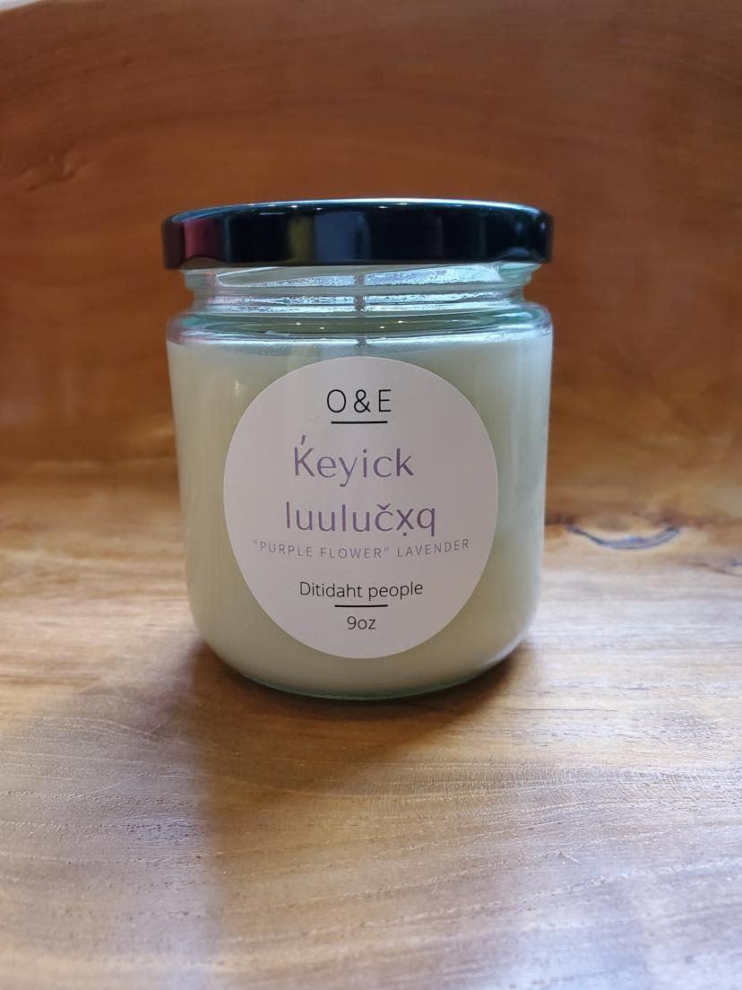 9oz Jar Soy Candle by Oak & Earth-2