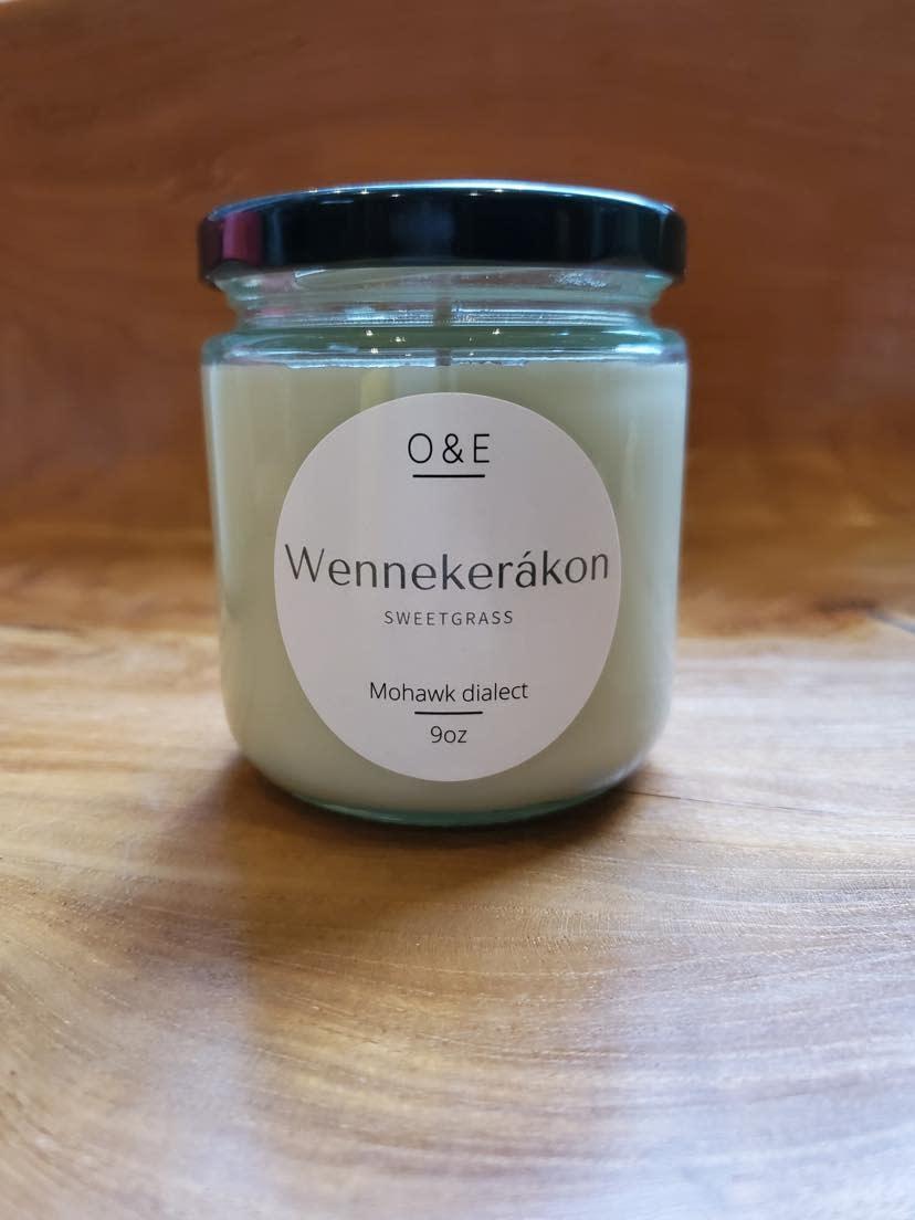 9oz Jar Soy Candle by Oak & Earth-3