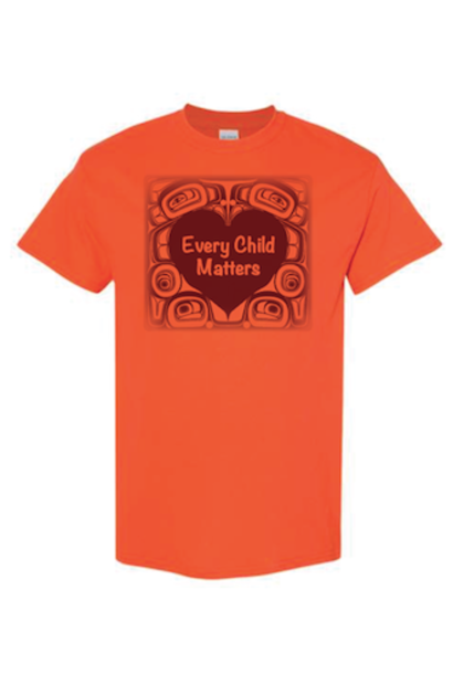 2021 Every Child Matters Orange Shirt by Morgan Asoyuf -YOUTH