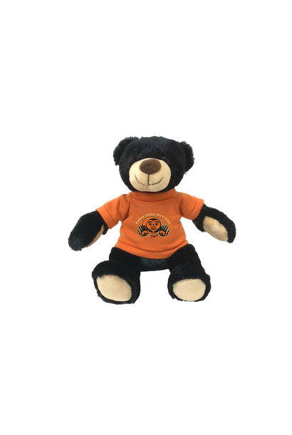 """11"""" Rufus Bear with Every Child Matters T-shirt"""