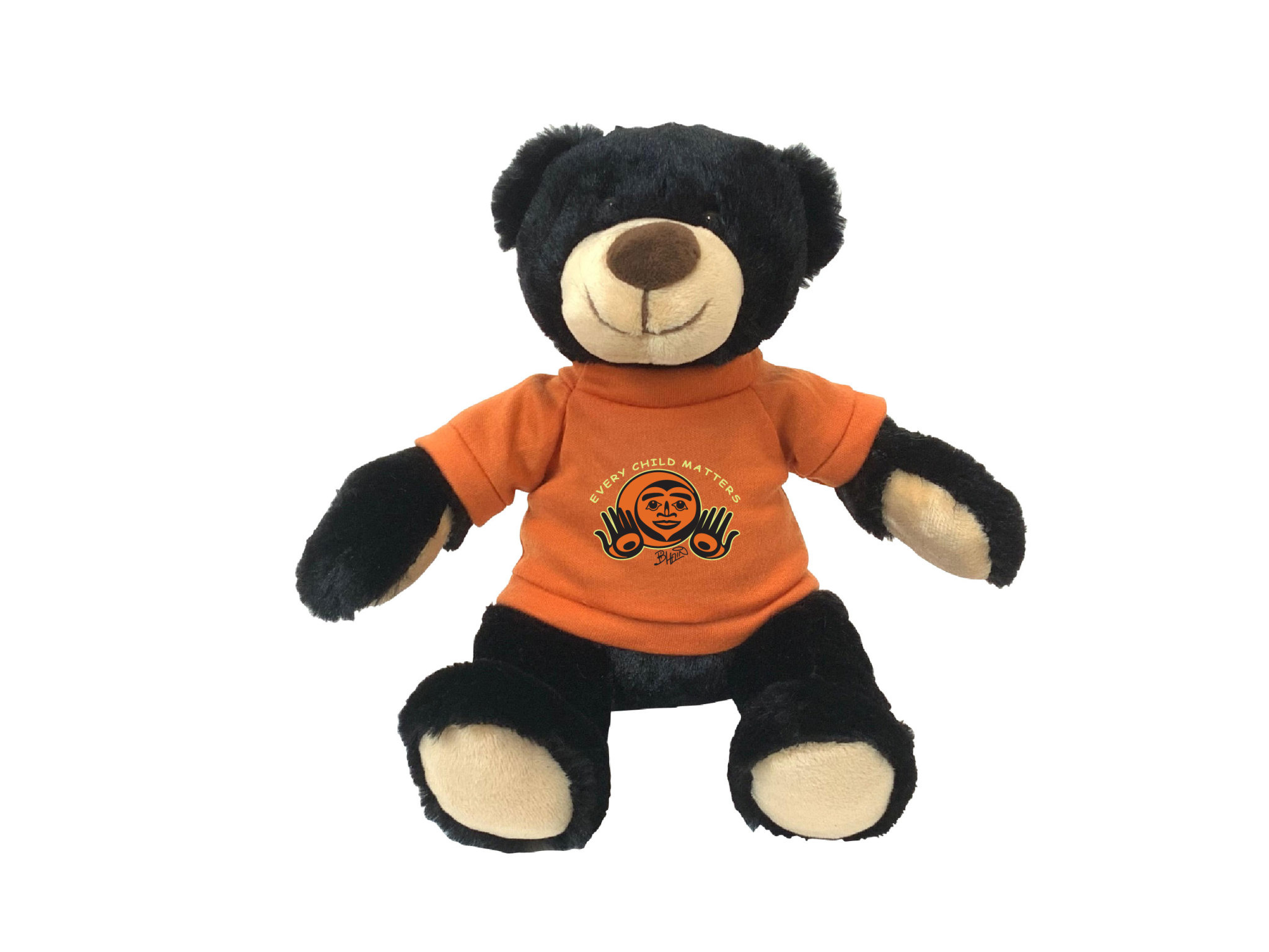 """11"""" Rufus Bear with Every Child Matters T-shirt-1"""