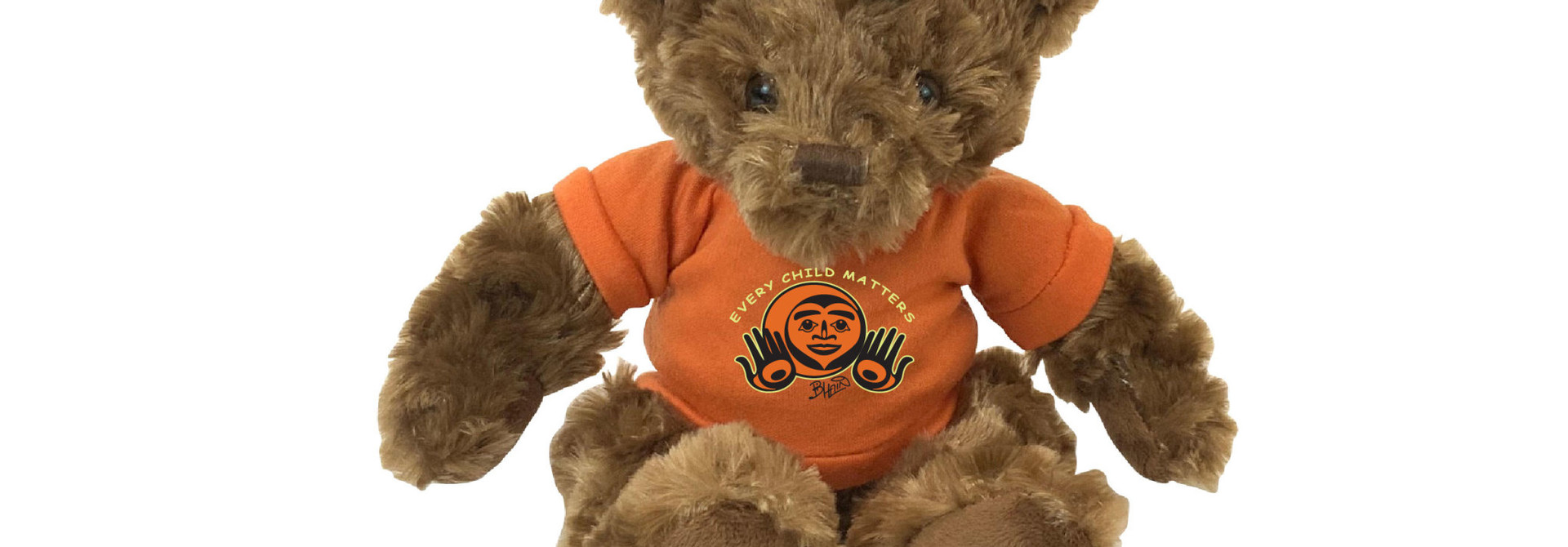 """11"""" Fergus Bear with Every Child Matters  T-shirt"""