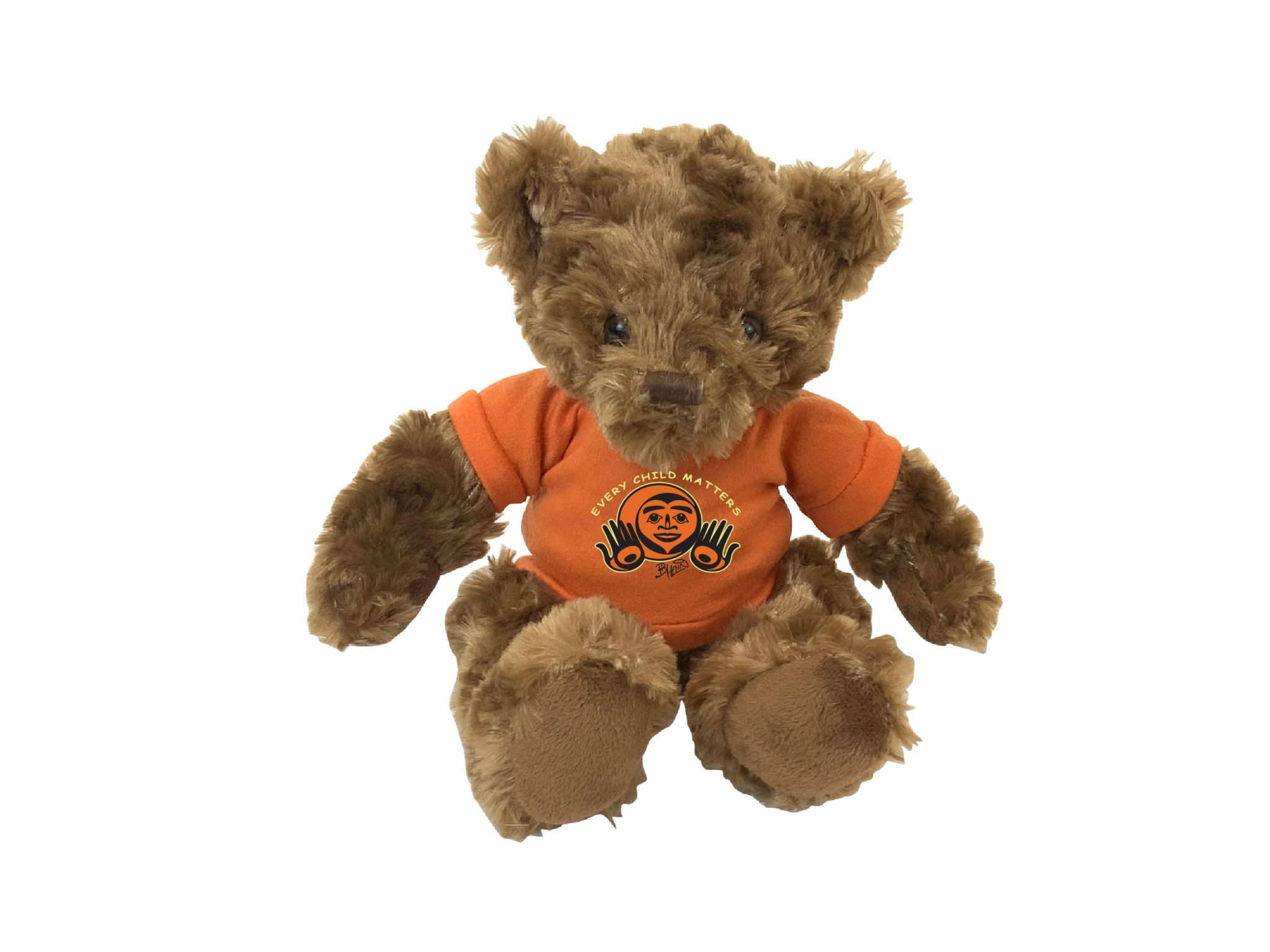"""11"""" Fergus Bear with Every Child Matters  T-shirt-1"""