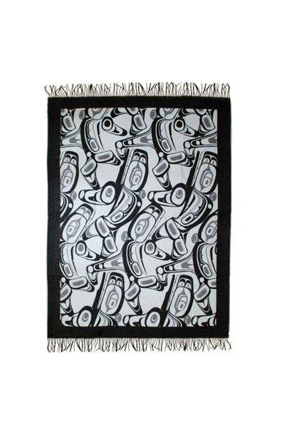 Orca Blanket Grey-Kelly Robinson