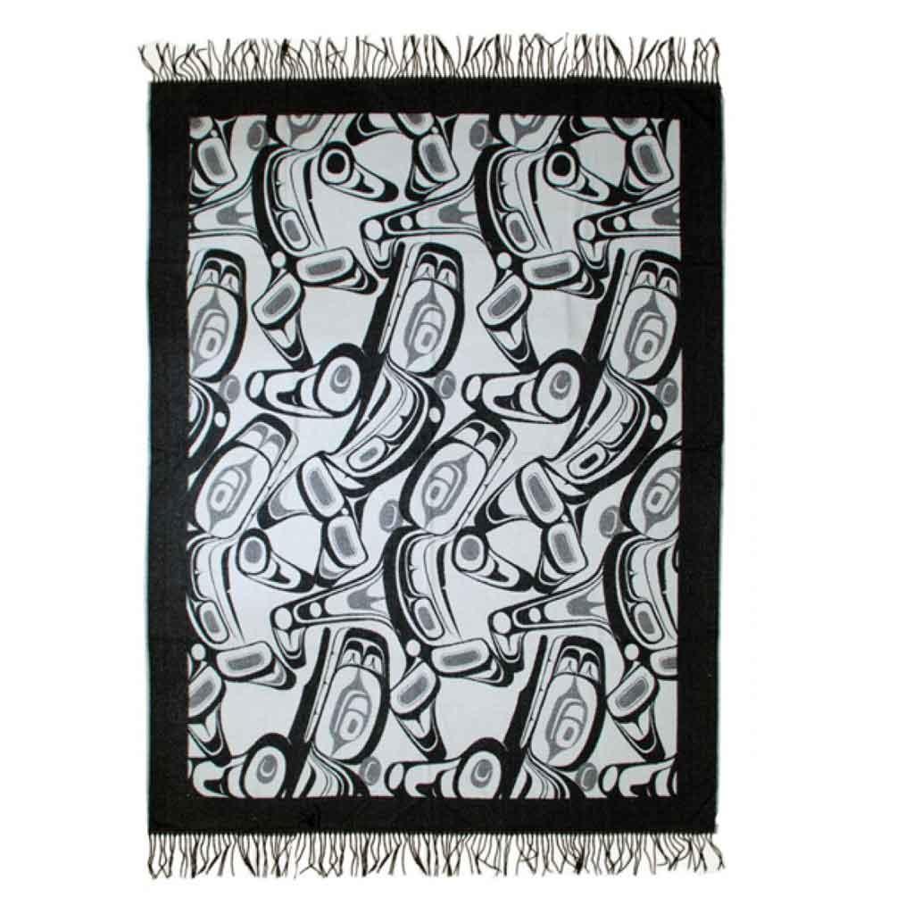 Orca Blanket Grey-Kelly Robinson-1