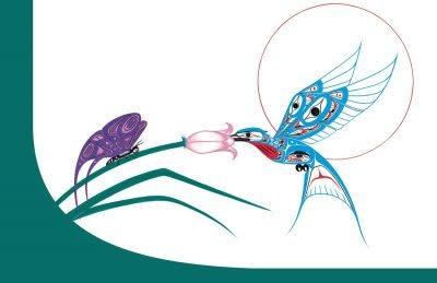 Notebook Hummingbird & Butterfly- Richard Shorty-1