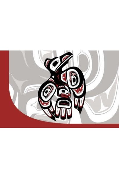 Notebook-Haida Raven III-Clarence Mills