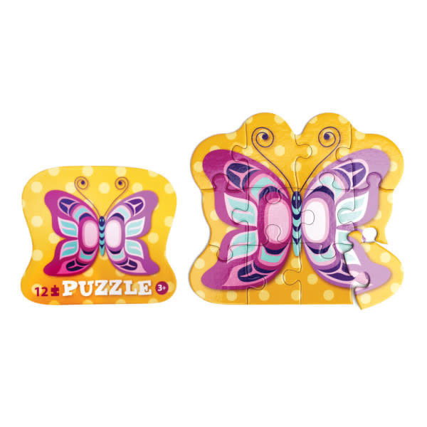12 Piece Puzzle - Butterfly-Eugene Isaac-1
