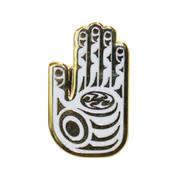 Enamel Pin Healing Hand- Simone Diamond-1