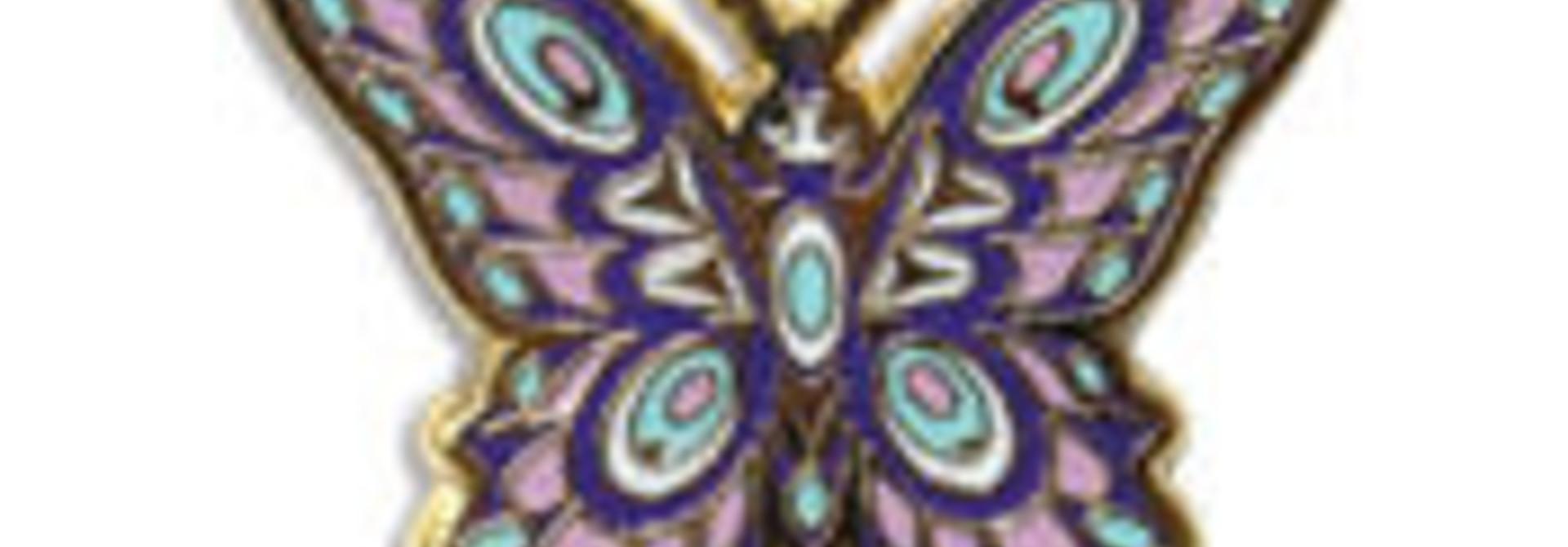 Enamel Butterfly- Joe Wilson