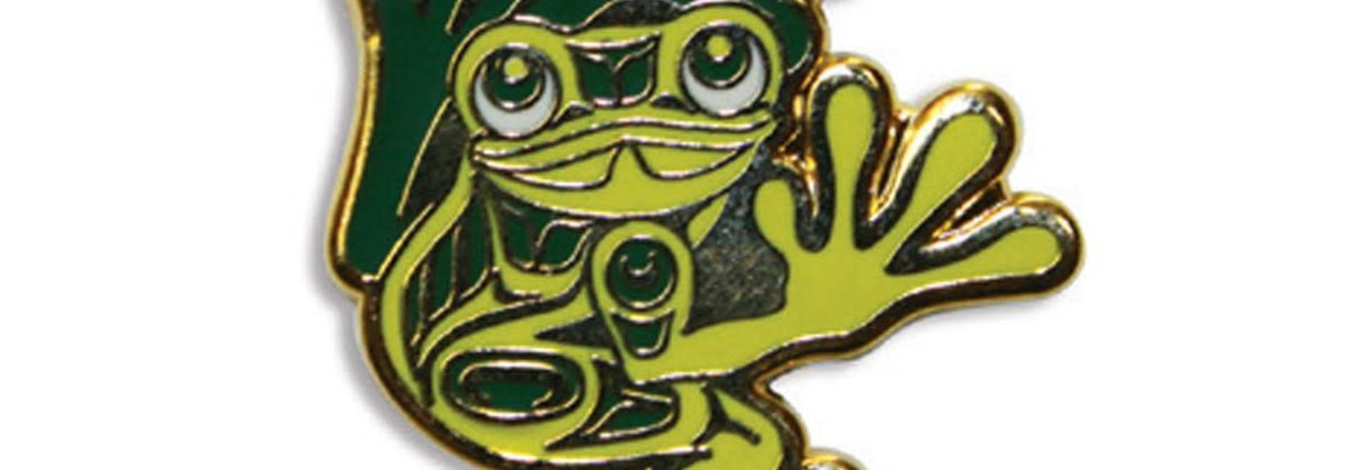 Enamel Pin Frog- Corey W. Moraes