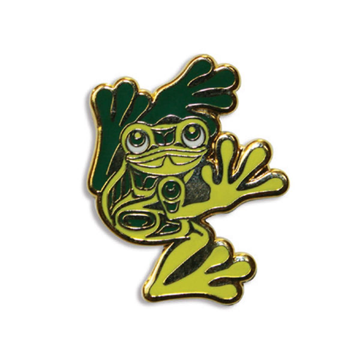 Enamel Pin Frog- Corey W. Moraes-1