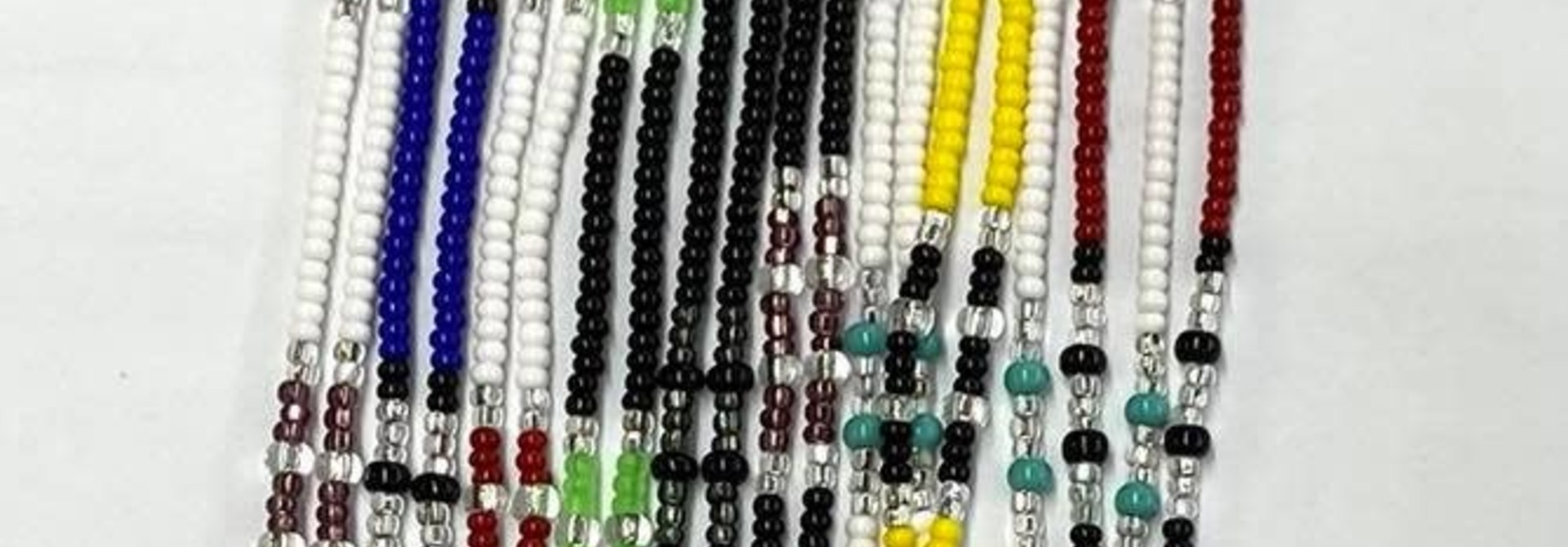 Assorted Beaded Lanyards by Roxanne George