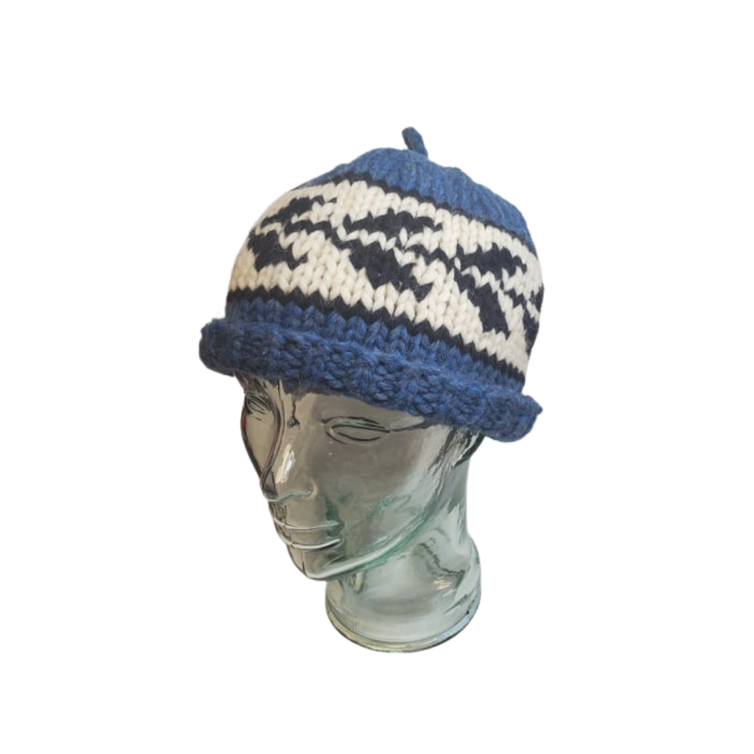 Hand Knit Cowichan Toques-1