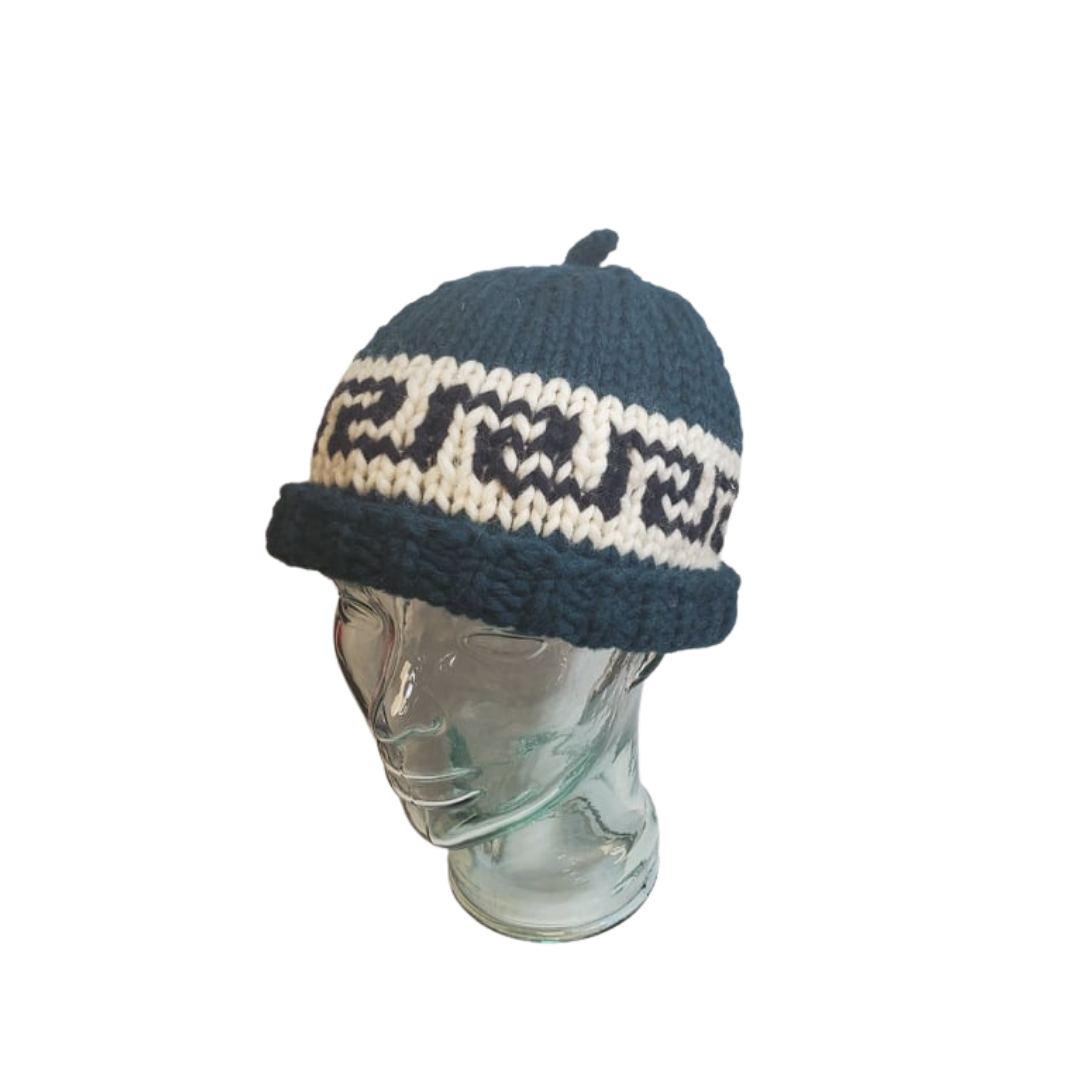 Hand Knit Cowichan Toques-2