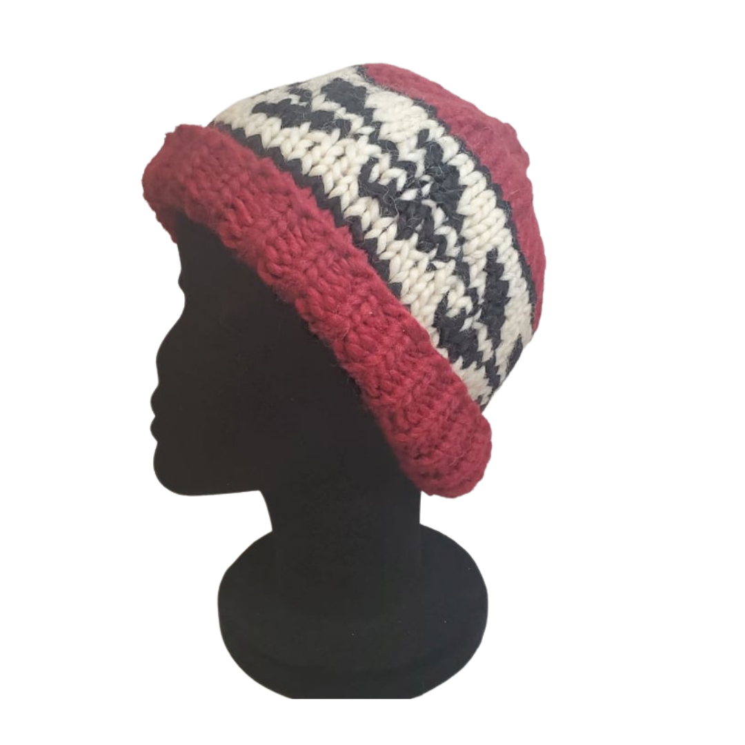 Hand Knit Cowichan Toques-4