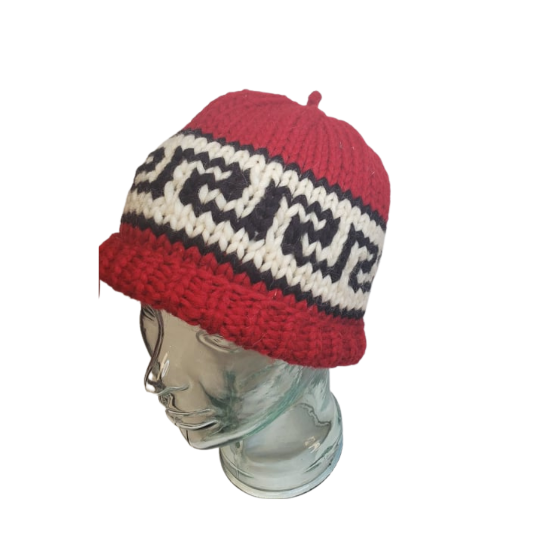 Hand Knit Cowichan Toques-6