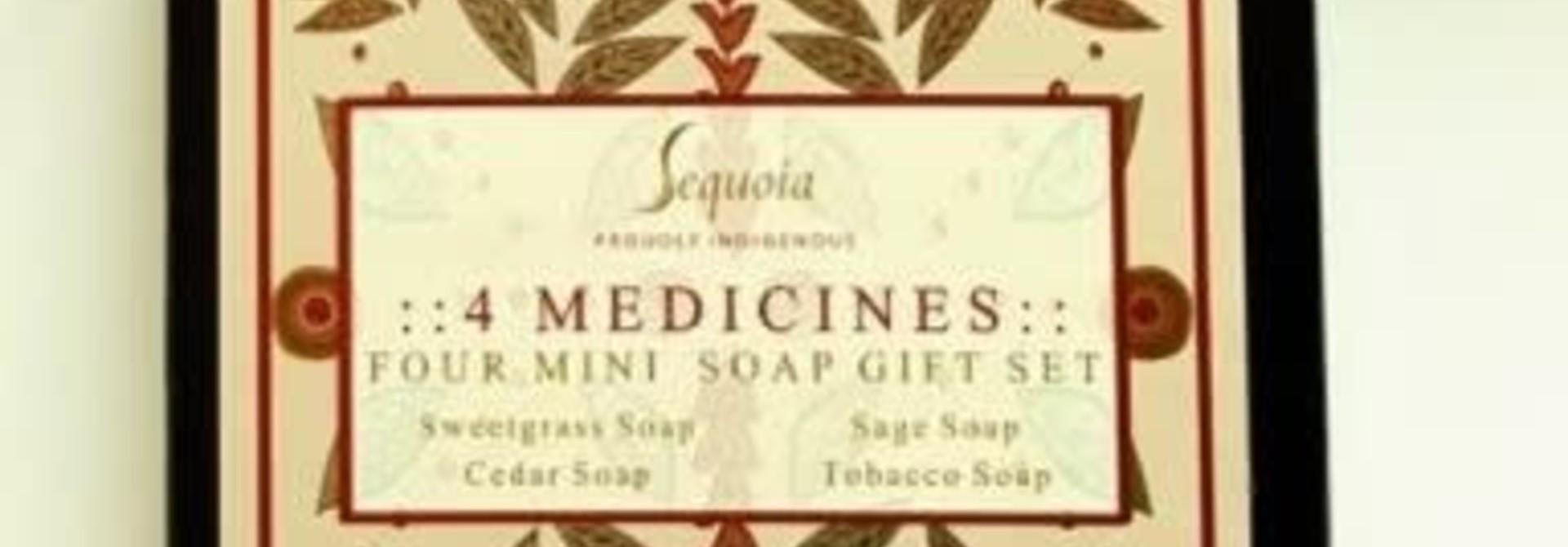 Sequoia Mini Soap Gift Set - Four Medicines