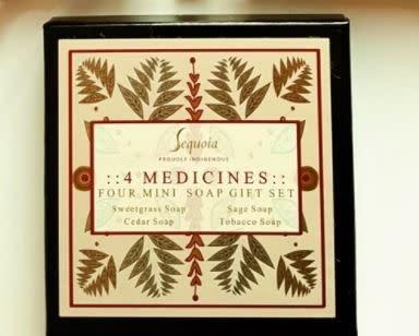 Sequoia Mini Soap Gift Set - Four Medicines-1