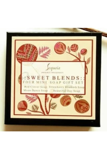 Sequoia Mini Soaps Gift Set - Sweet Blends