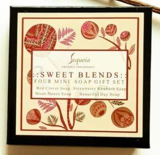 Sequoia Mini Soaps Gift Set - Sweet Blends-2