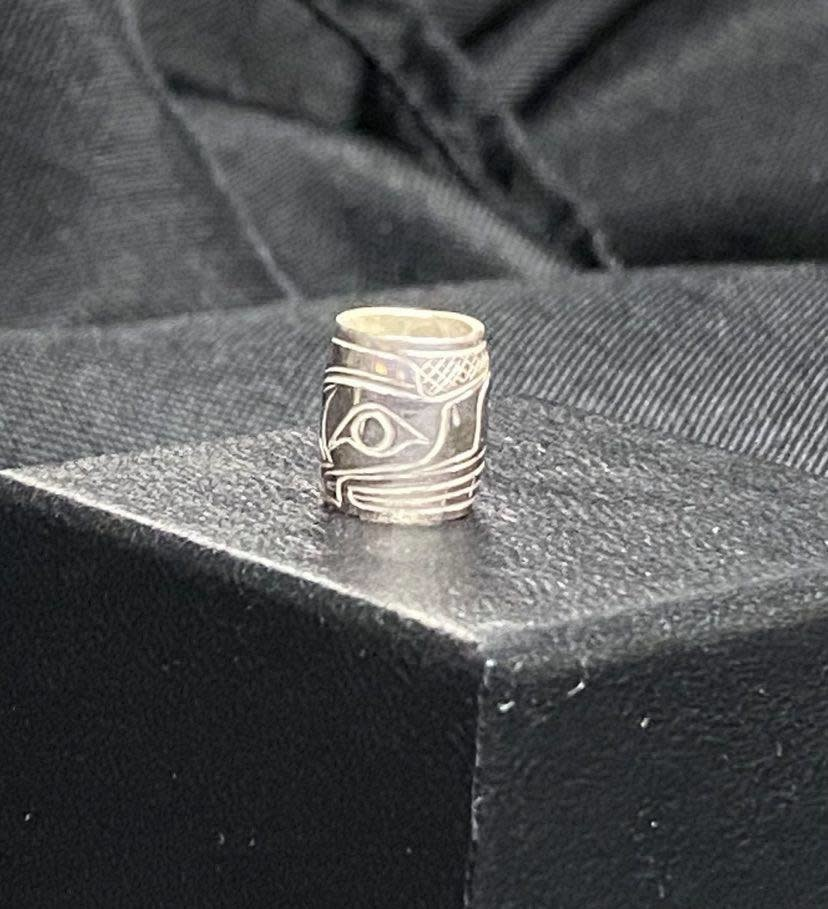 Carved Silver Tradition Charms-5