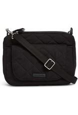 Vera Bradley Mini Carson Shoulder Bag,  Classic Black