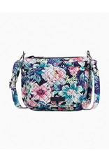 Vera Bradley Mini Carson Shoulder Bag, Garden Grove