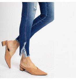 Kancan Hi-rise Skinny Frayed Ankle Jean