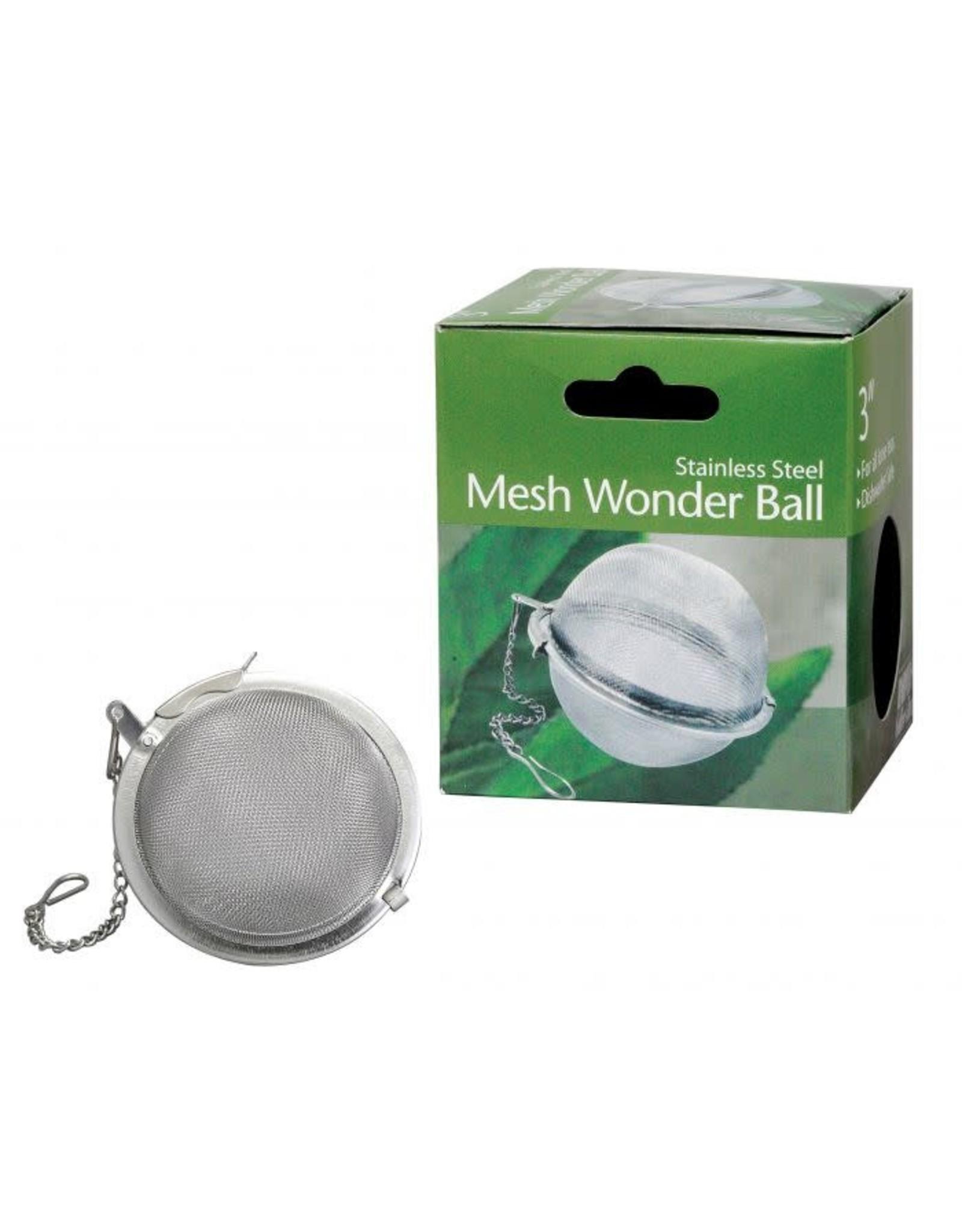 "Stainless Steel Mesh Wonder Tea Ball, 3"""