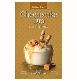 Wind & Willow Butter Rum Cheesecake Dip, 4oz
