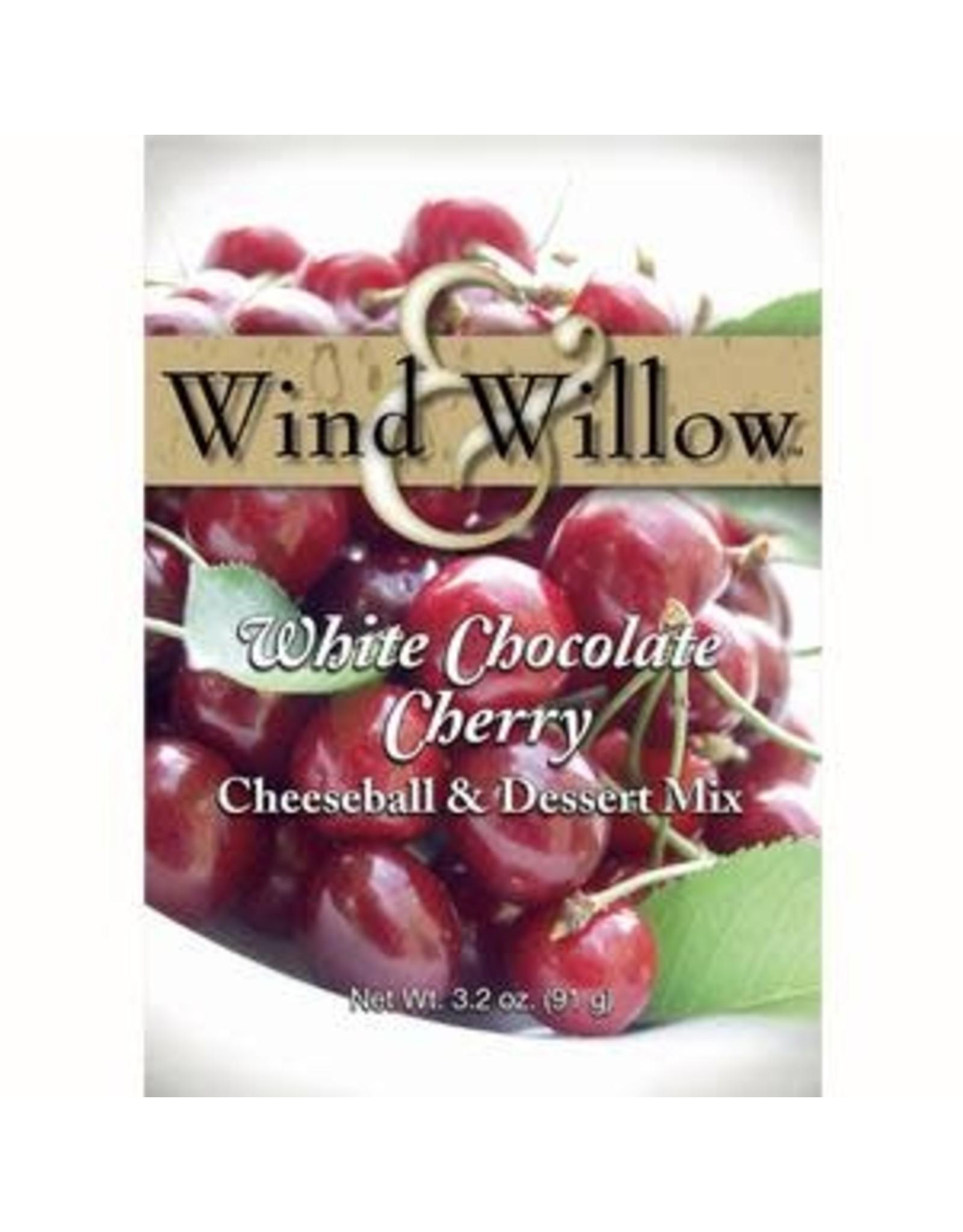 Wind & Willow White Chocolate Cherry Cheeseball Mix, 3.2oz