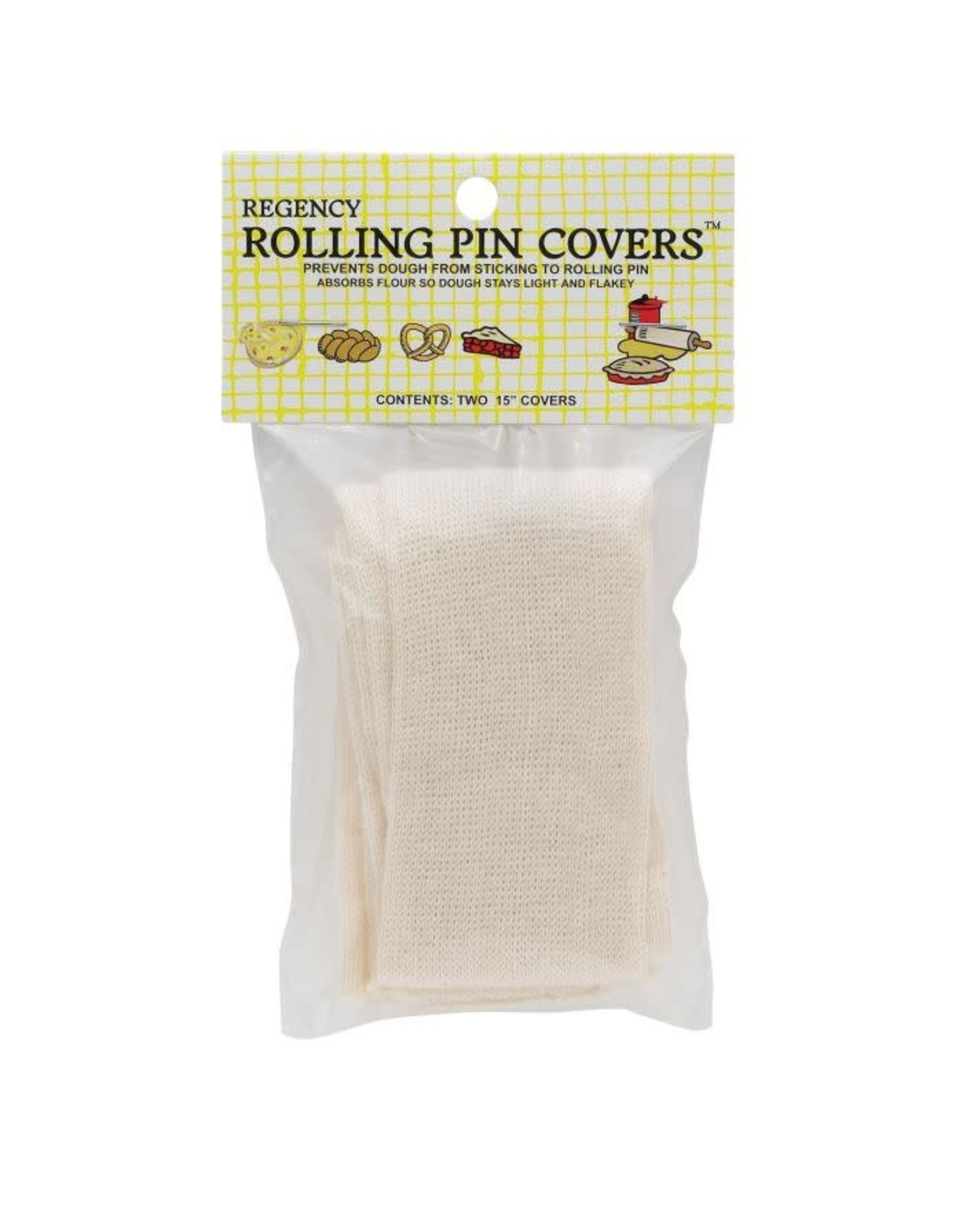 """Rolling Pin Covers, 15"""", S/2"""