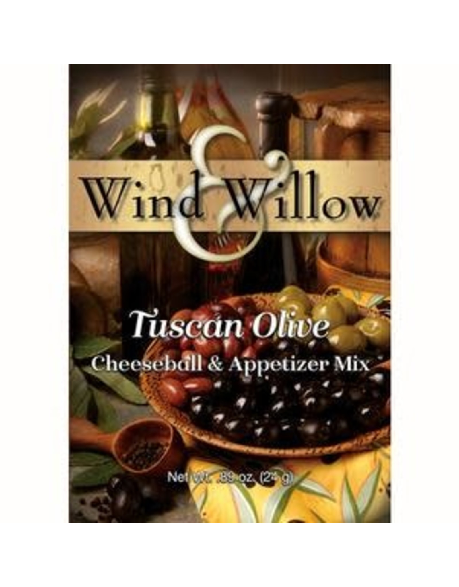 Wind & Willow Tuscan Olive Cheeseball Mix, .89oz