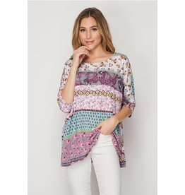 Honey Me Pretty in Paisley Top