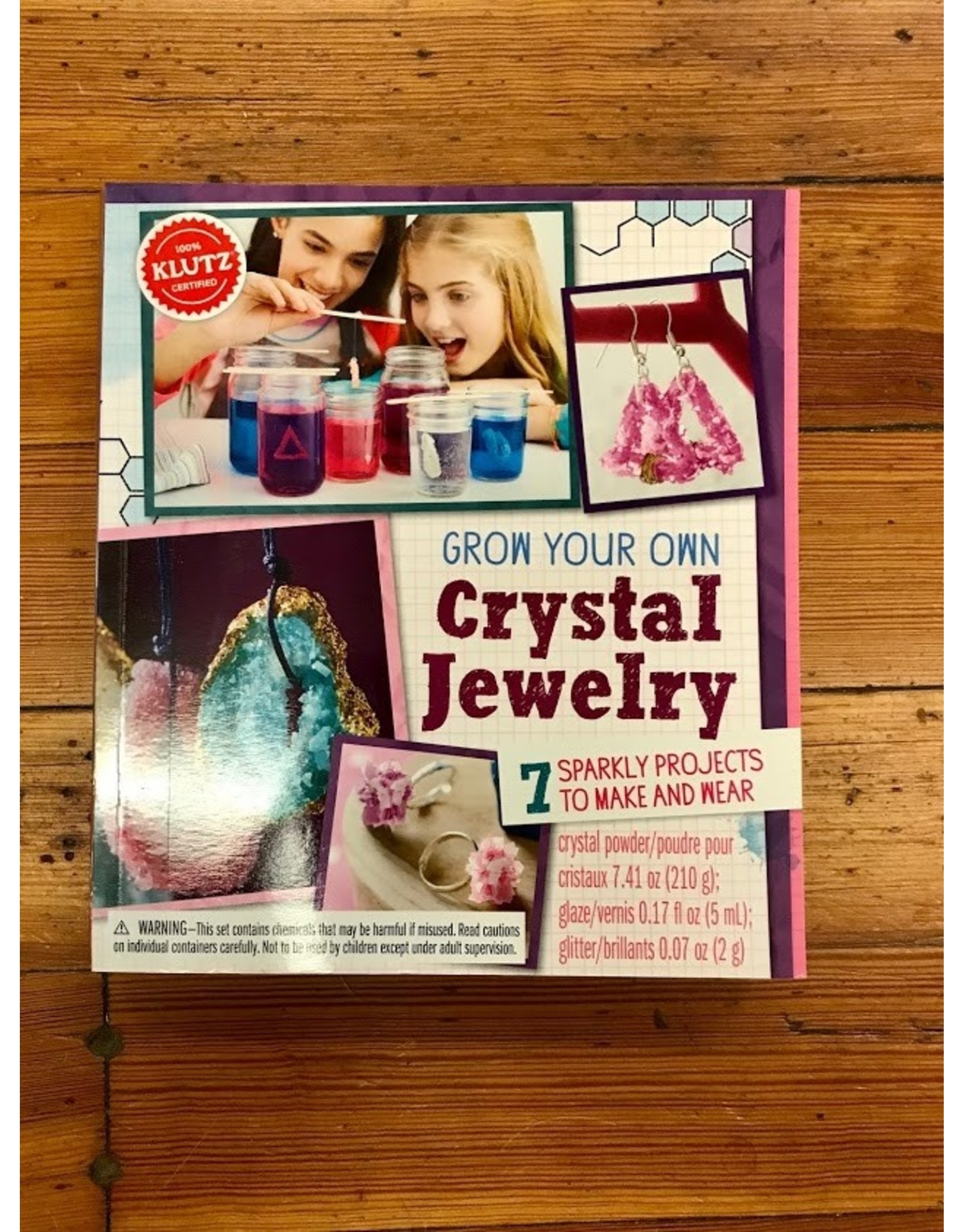 Craft Book- Grow your own Crystal Jewelry