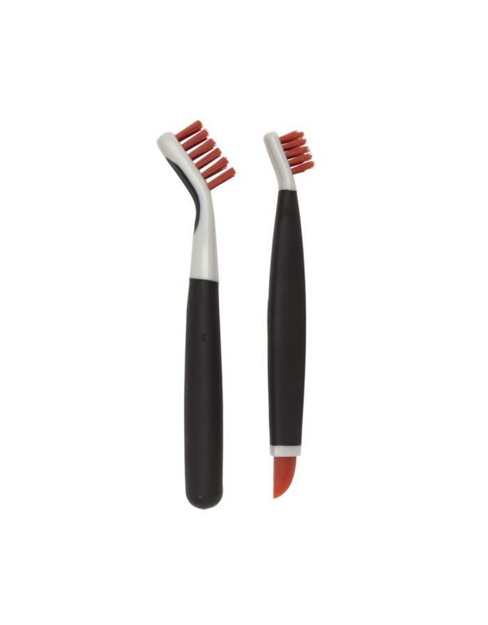 Oxo Deep Clean Brush Set, Blk/Orange, S/2
